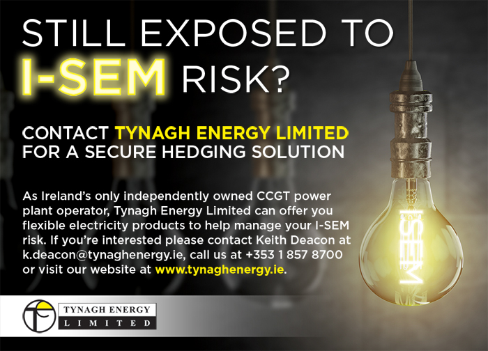 Tynagh Energy i-SEM Risk Advert Image